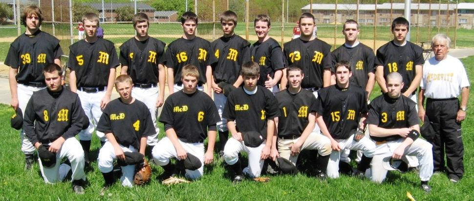 CL Baseball Team Photos, 2007